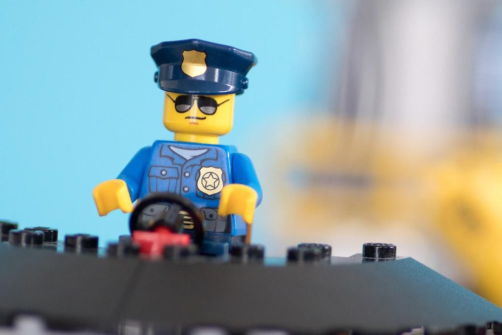 Lego Policeman toy