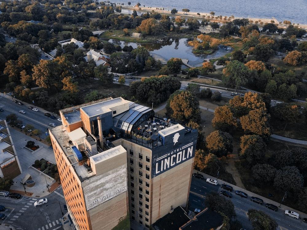 aerial photgraphy of buildings