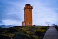 It was another cold and windy day in Iceland. I was having a strong cold. At least seeing Svörtuloft lighthouse made my travel mates feel more cosy in that weather conditions.
