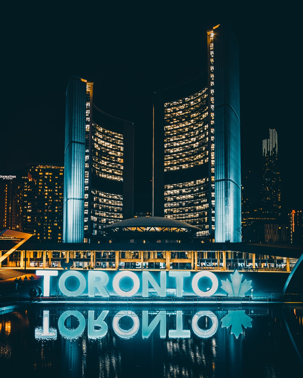 Toronto at nighttime