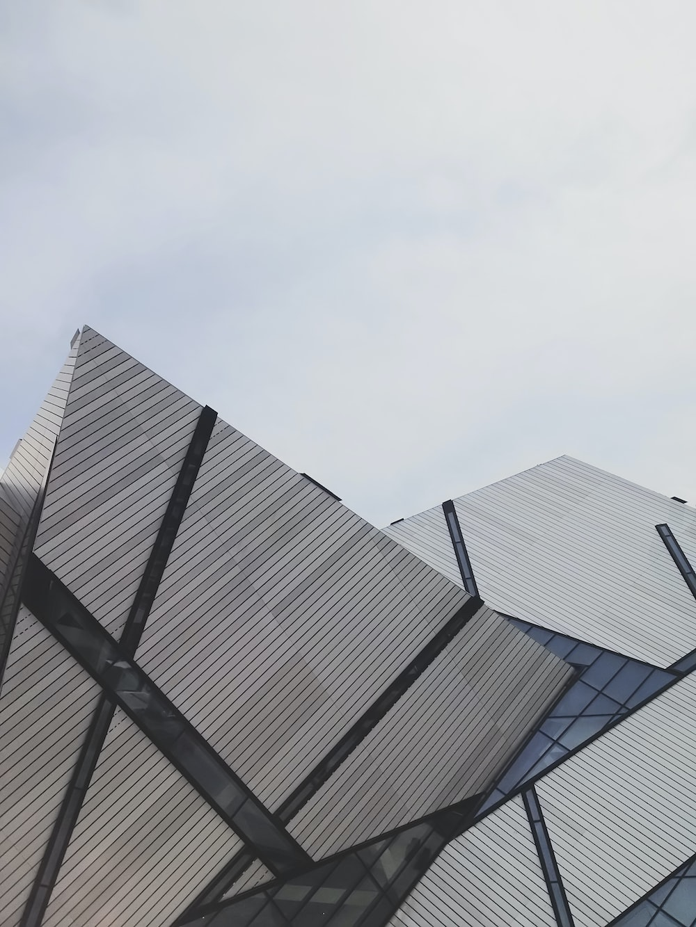 architectural photography of royal ontario museum building