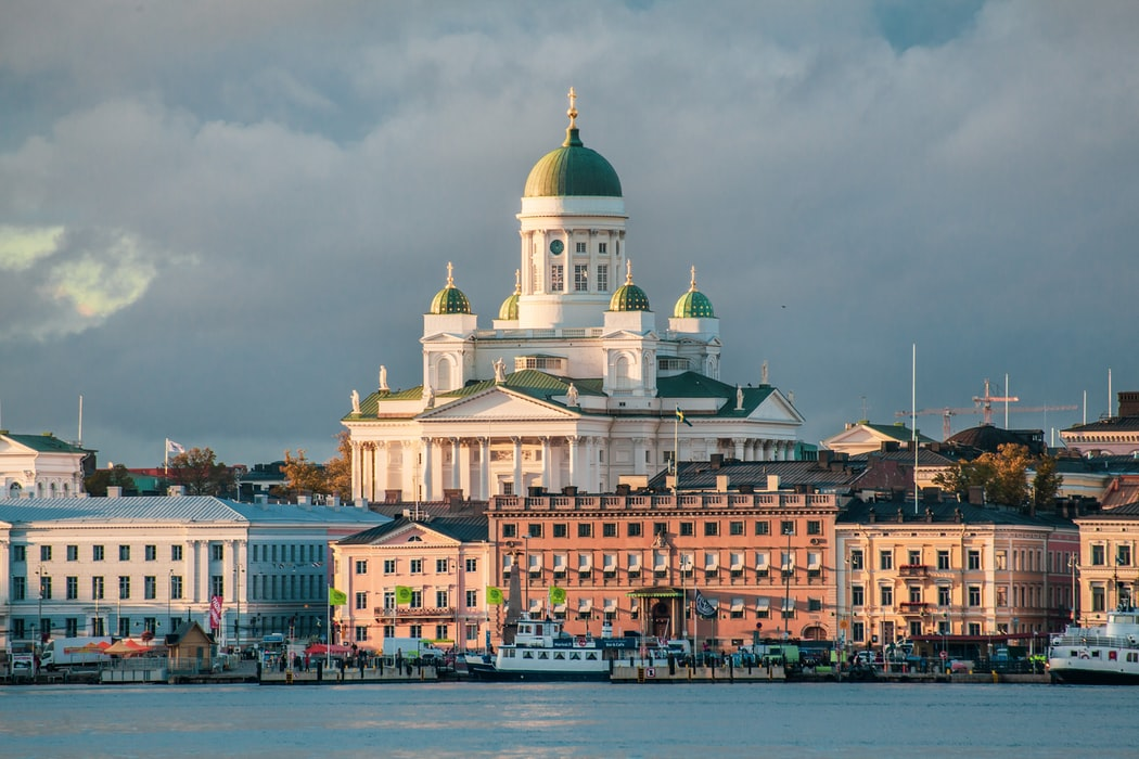 Helsinki Cathedral during the Autumn Sunset: top attractions to cover in Helsinki
