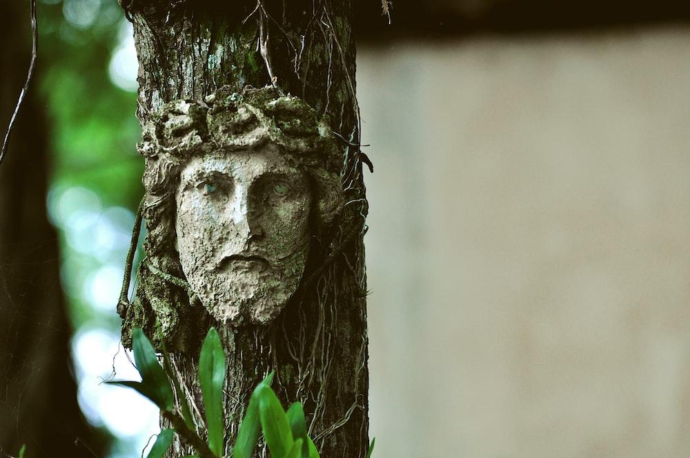 Jesus tree artwork