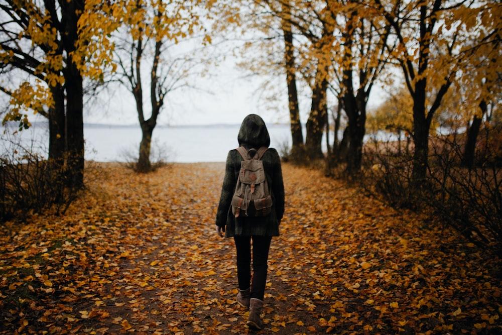 Dona caminant
