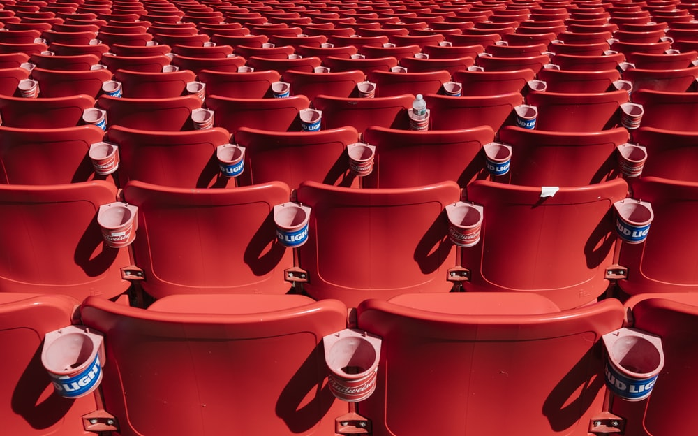 red chair lot