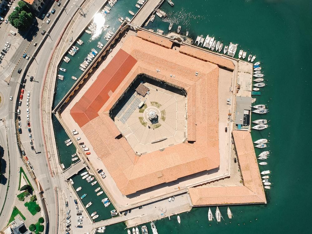 satellite view of Pentagon