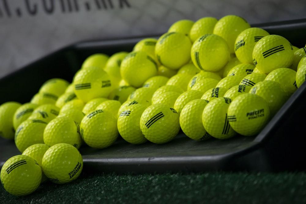 green golf ball lot