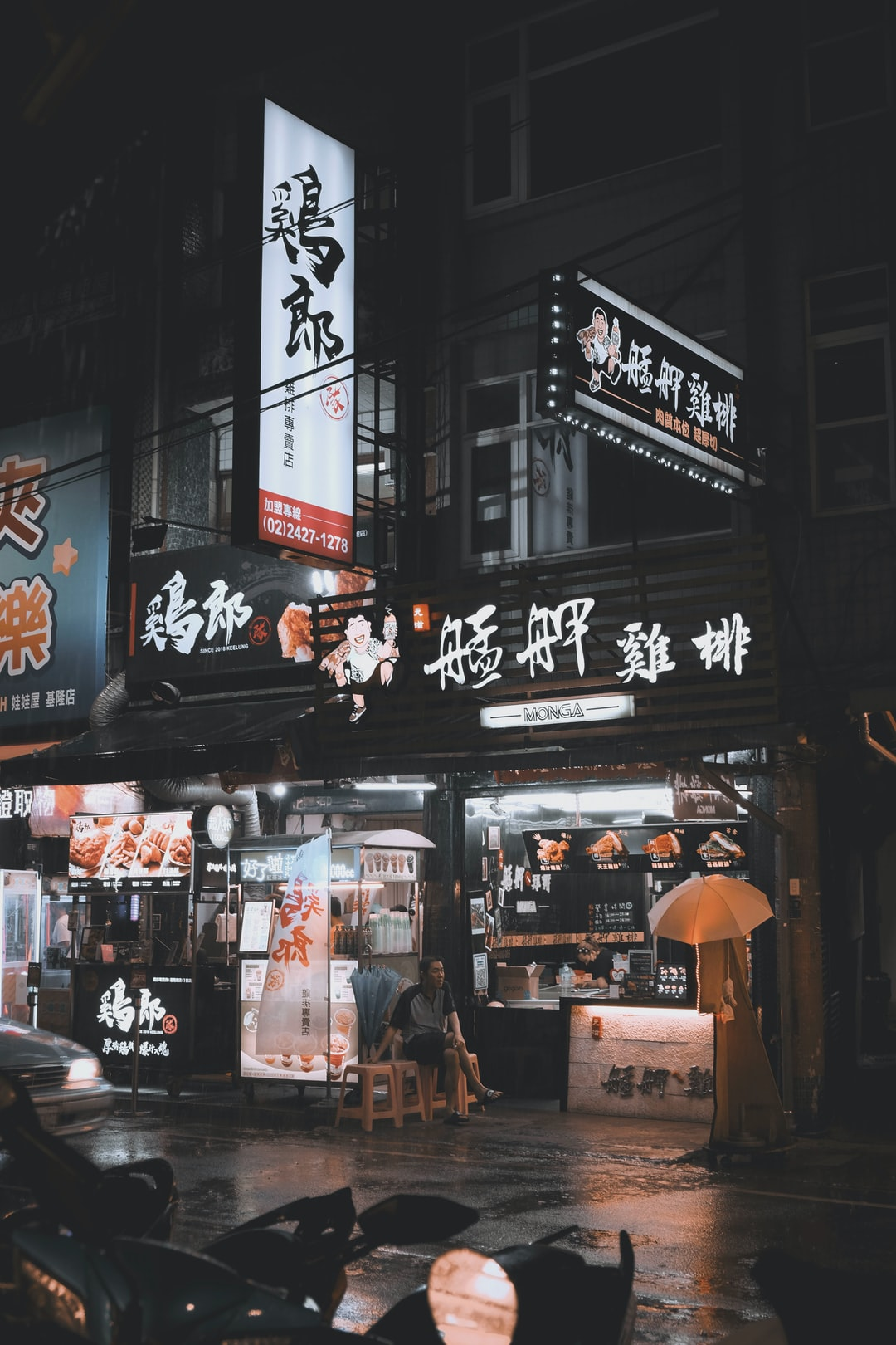 Exploring The Night Market