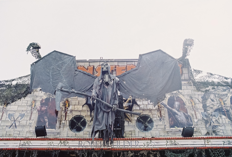 gray grim reaper decor