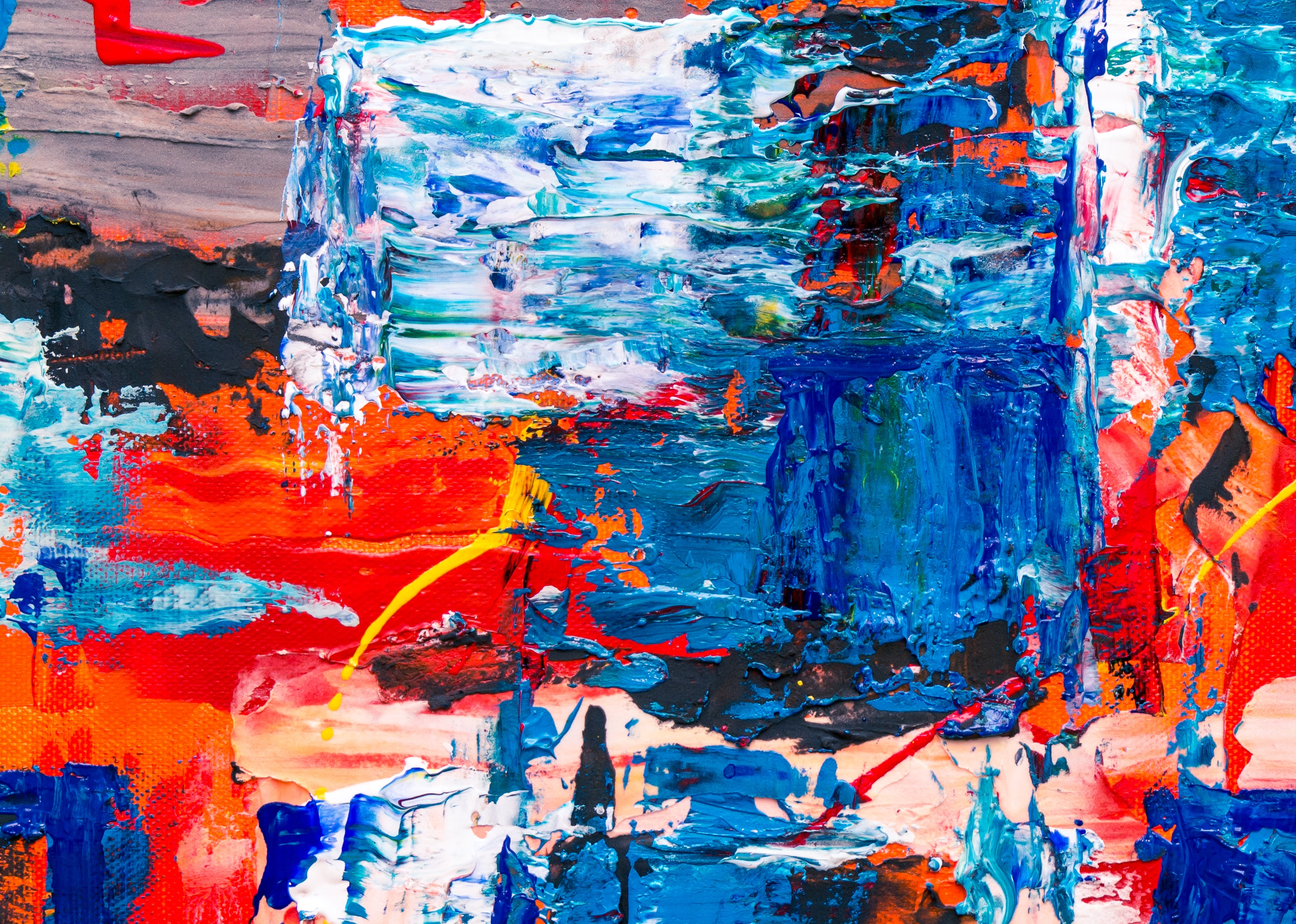multicolored abstract painting illustration