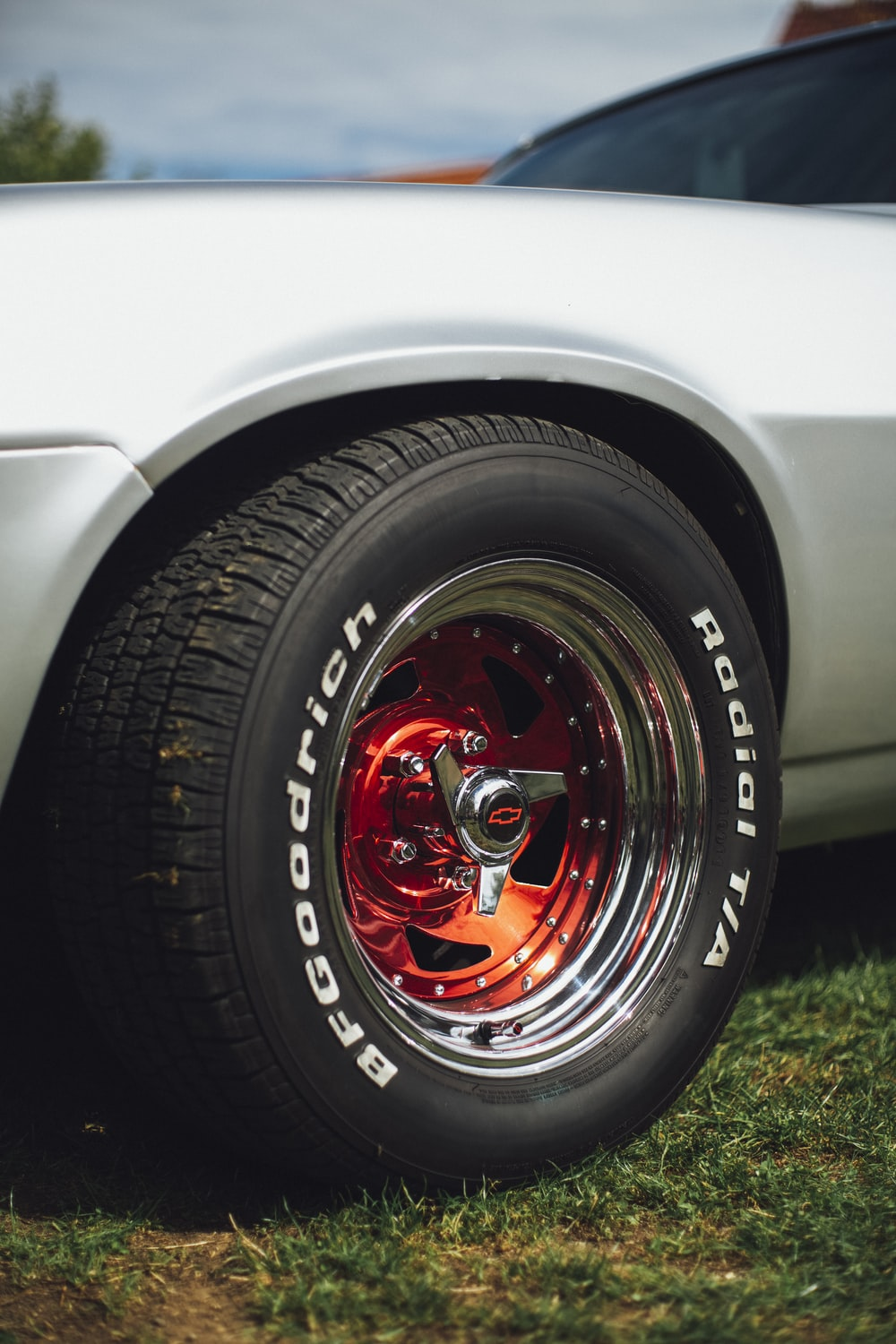close-up photography of vehicles BFGGodrich tire