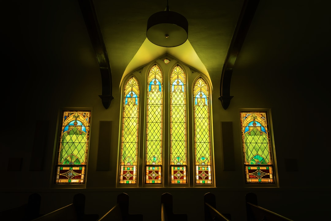 Stained Glass at Lincolnshire Evangelical Church
