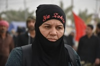 During Arbaeen Walking ( The most popular walking in Shia that collect about 20 million Muslim and go from najaf to Karbala (80km) by walk in memory of family of Imam Hussain PBUH).