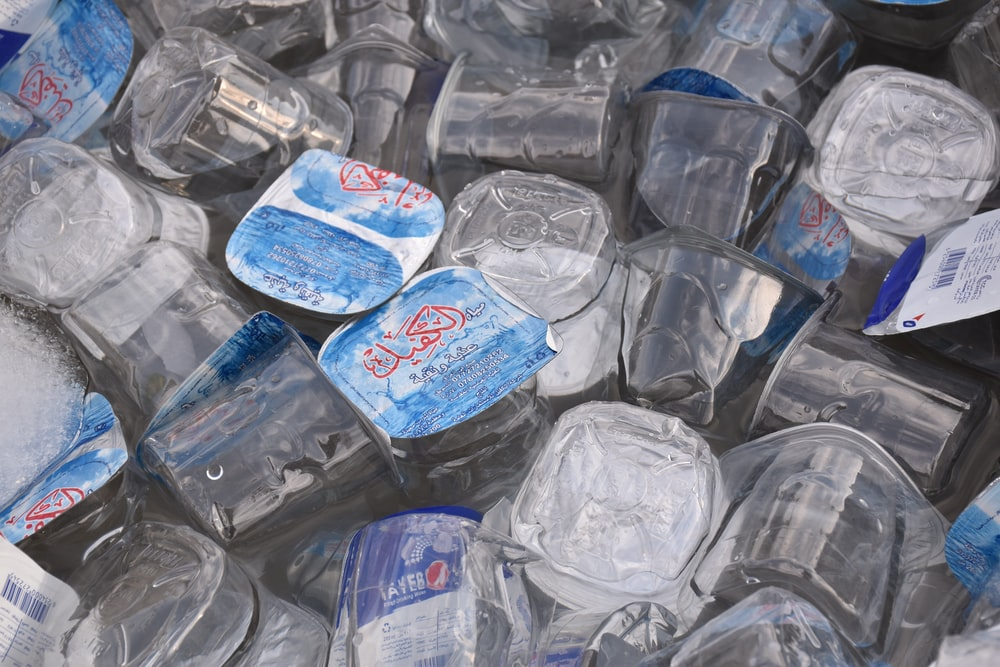 clear plastic container lot