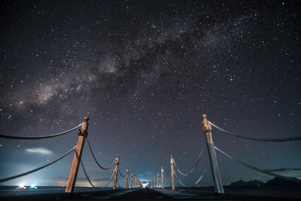 low angle photo of bridge