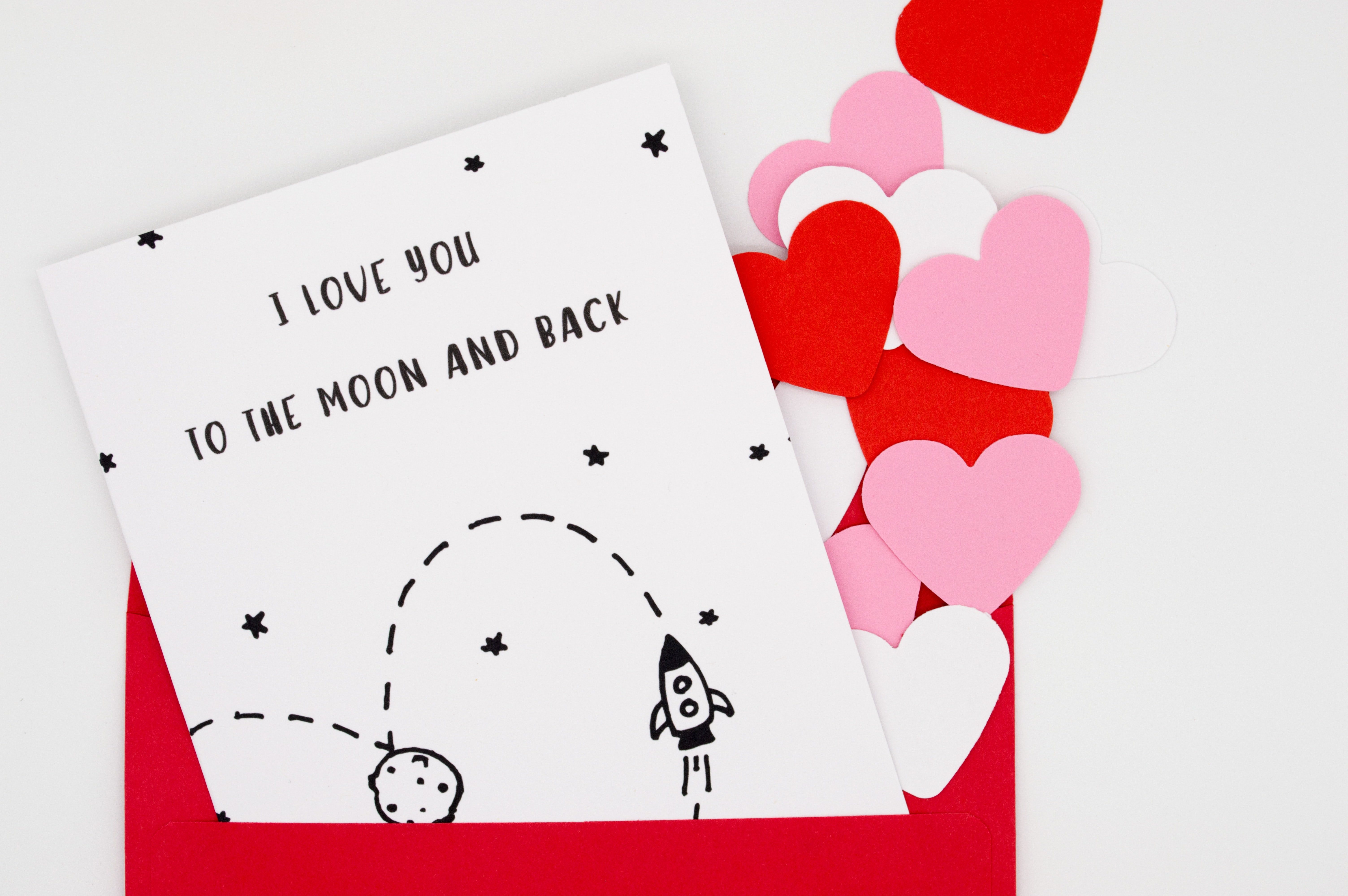 white love letter illustration
