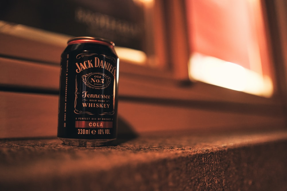 Jack Daniel's Tennessee whiskey can