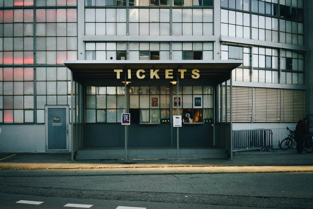 Tickets building