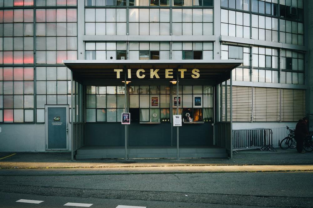 Tickets building