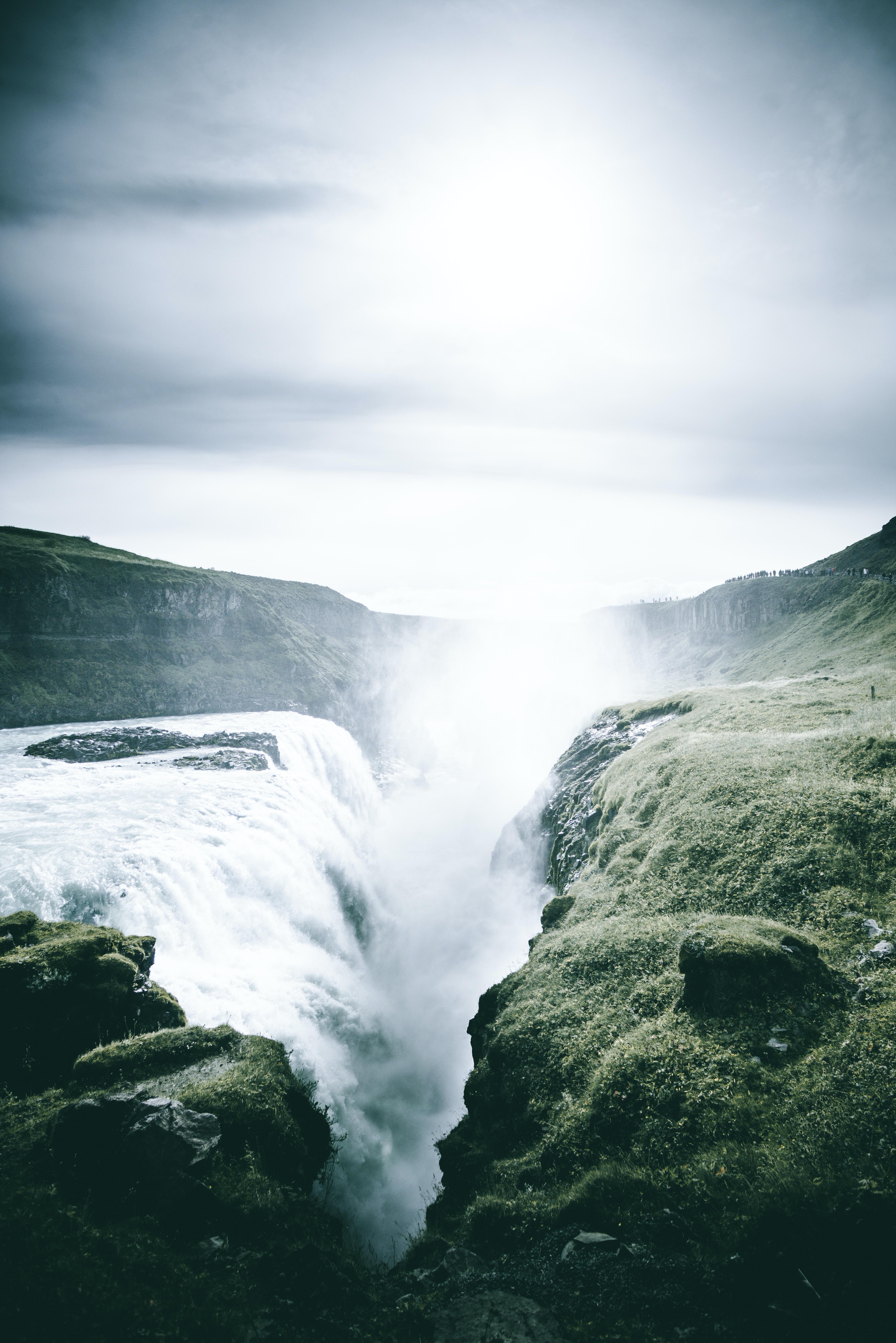 clear waterfalls
