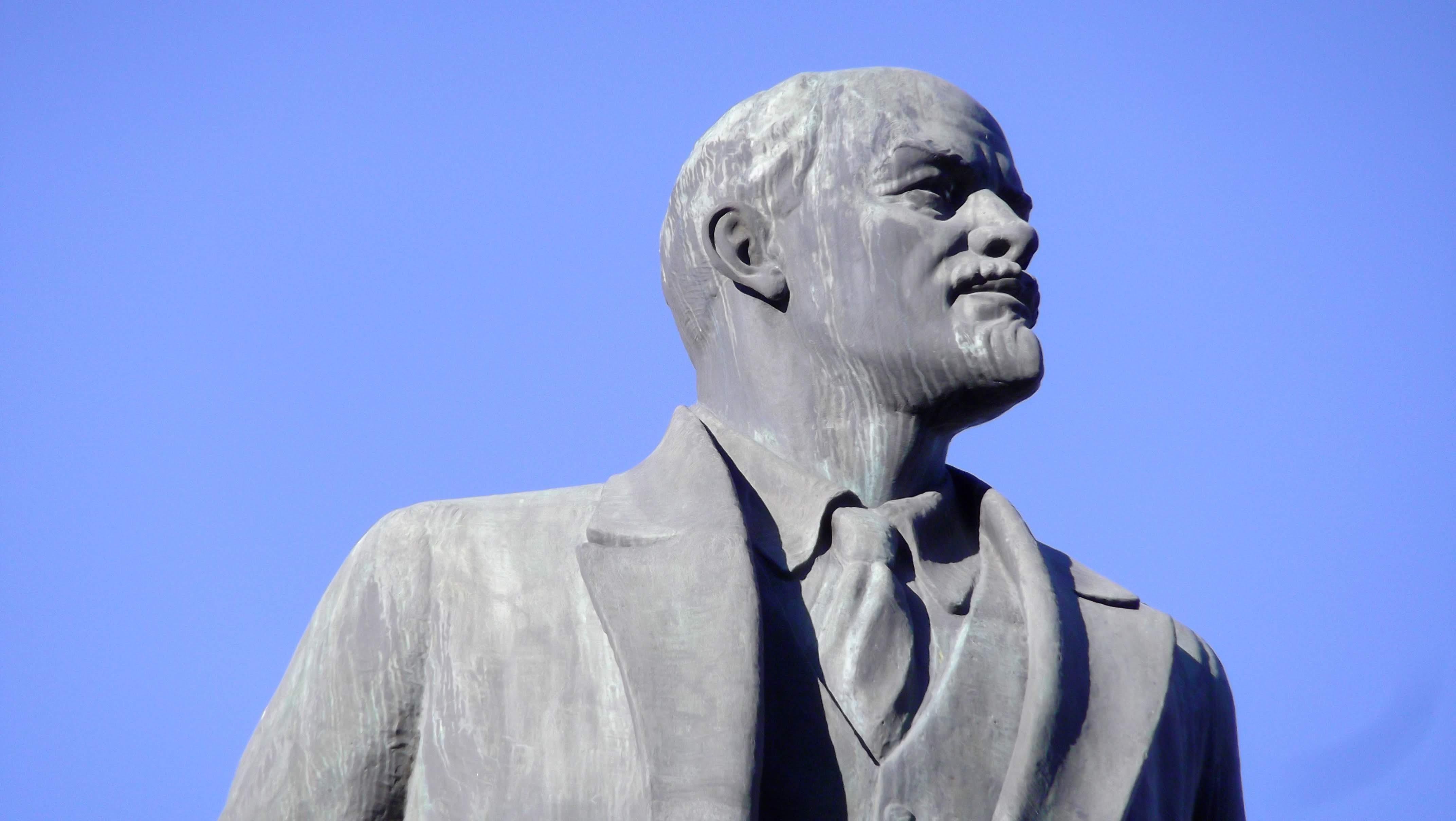 profile of man statue