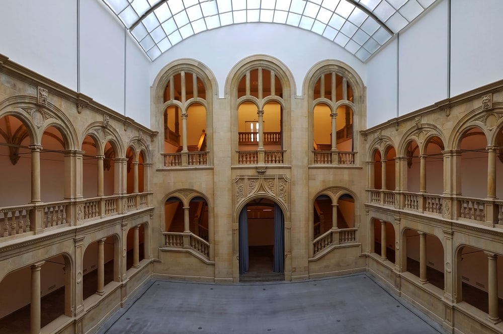2-storey building interior