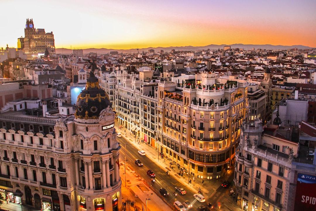 Oferta de menú en una de las terrazas más cool de Madrid