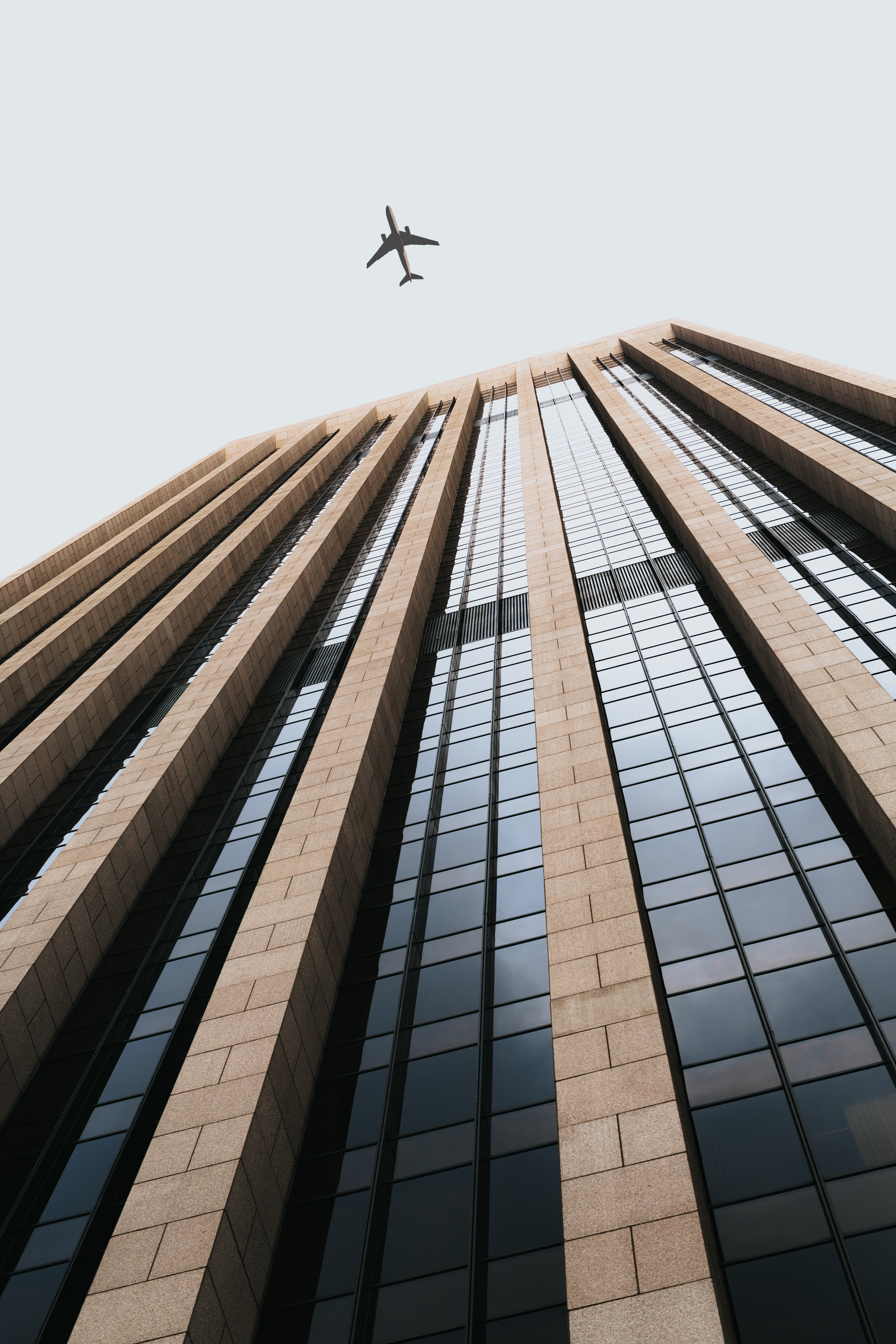 worm's eye view of building during daytime