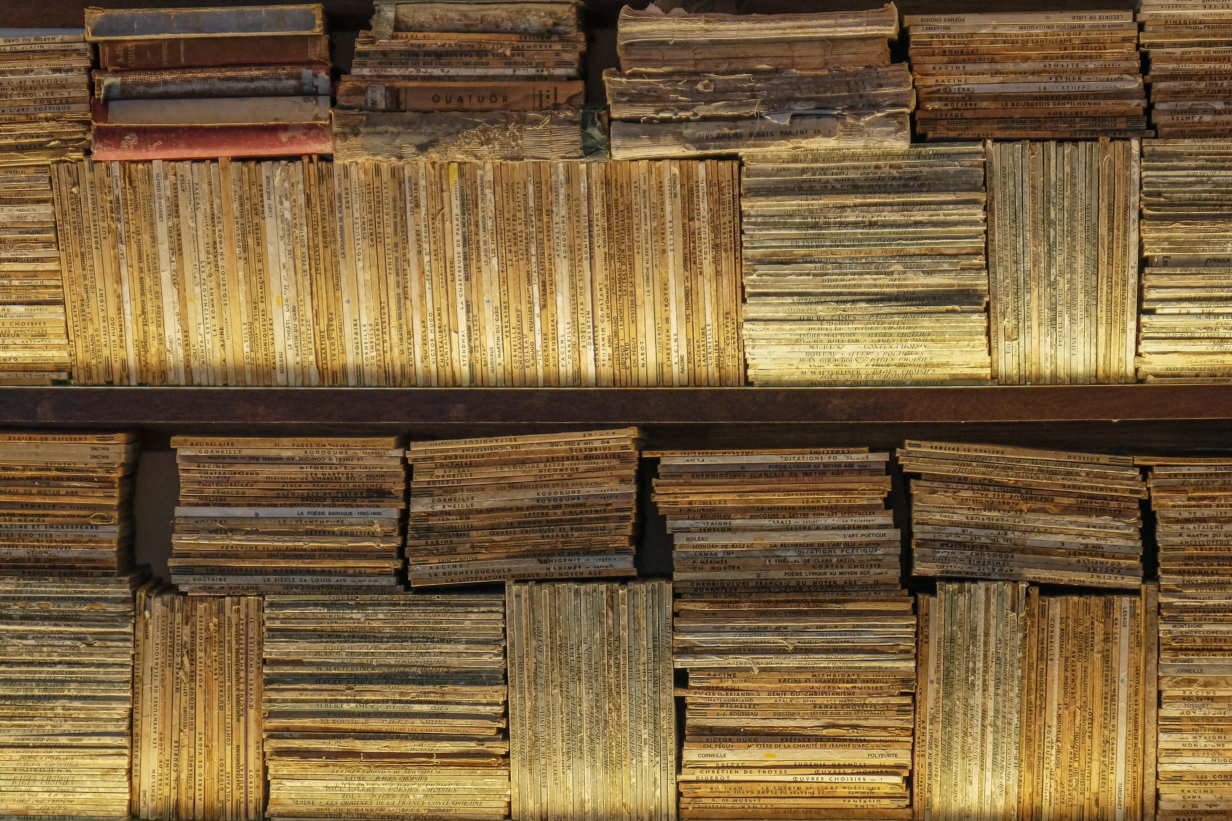 brown book lot