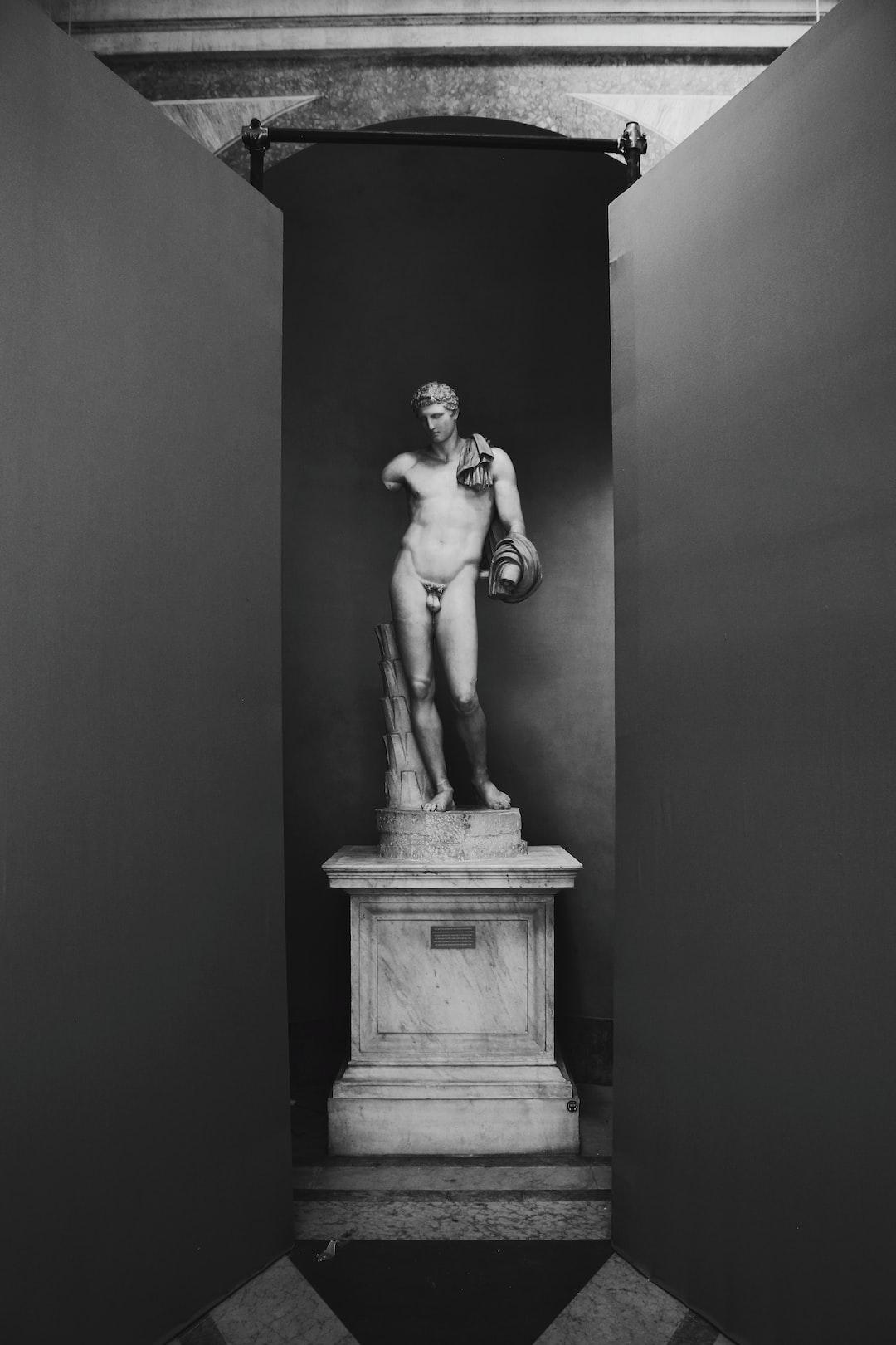 Estaba en el palacio de versalles y me separe de mi grupo para tomar fotos, los perdí y al buscarlos llegué a un area en reparación donde encontré esta estatua y era el modelo perfecto