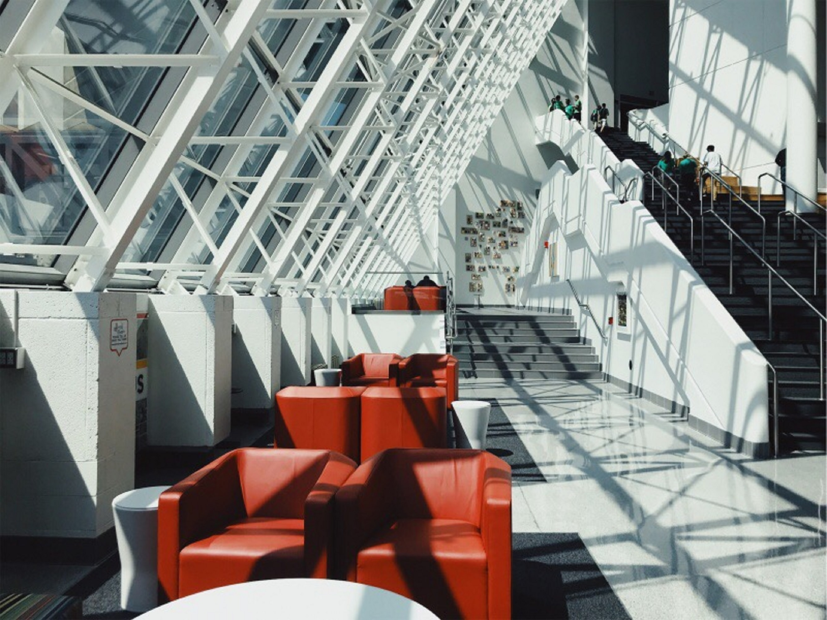 landscape photography of building interior