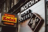 Kodak signage board