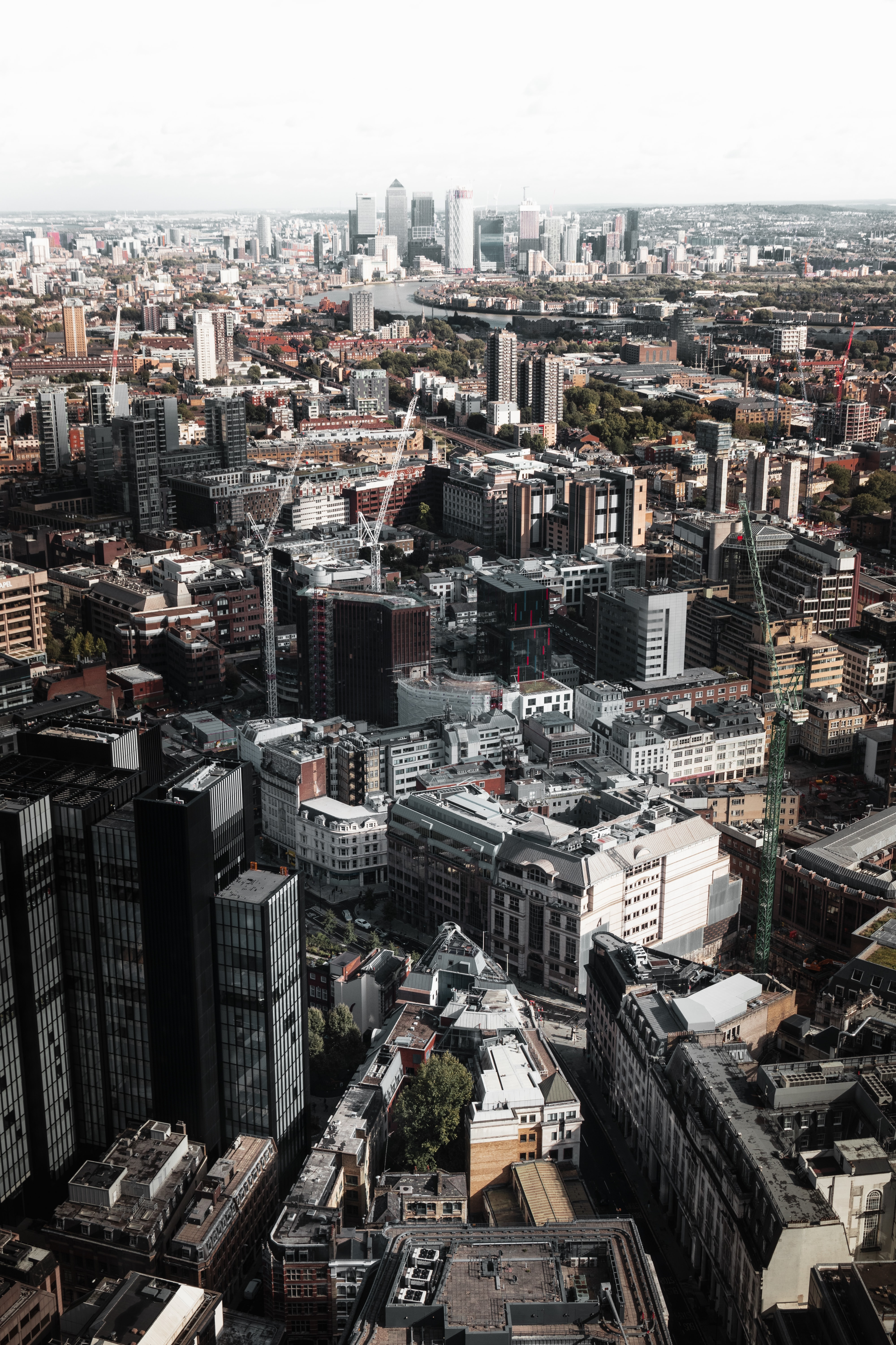 aerial photography of cityscape during daytime