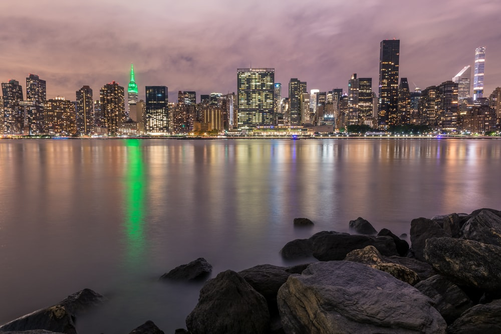 panoramic photography of city buildings