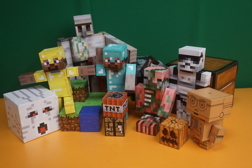 Minecraft toy lot