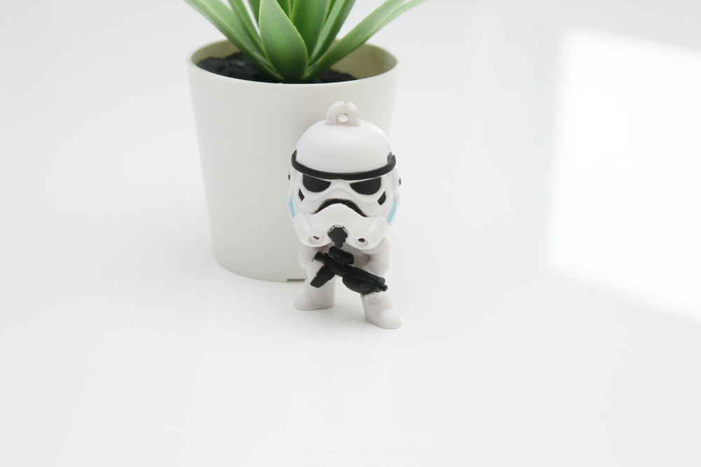 Star Wars Storm Trooper toy