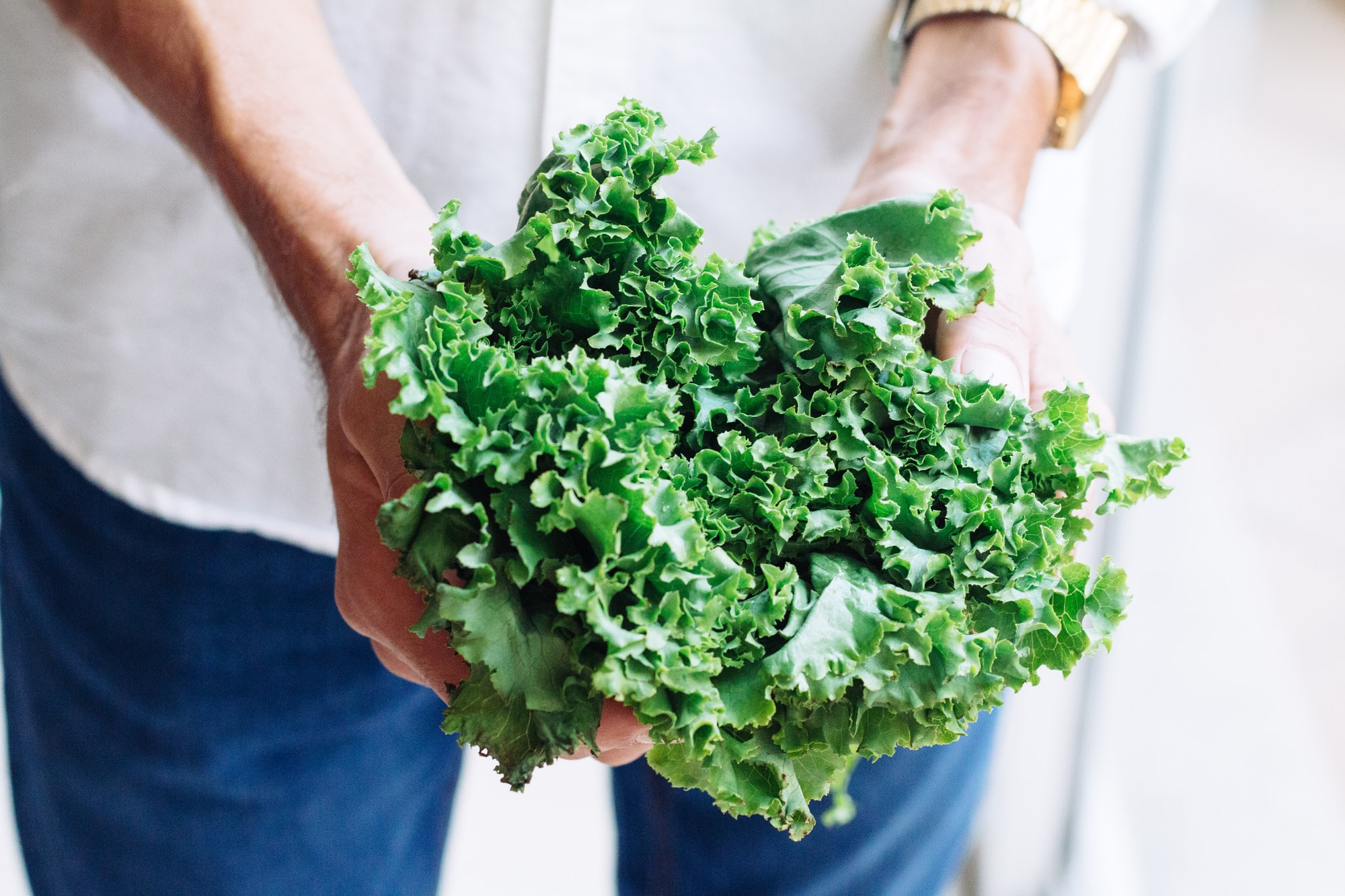 Leafy greens are a source of calcium and other nutrients by Adolfo Felix.