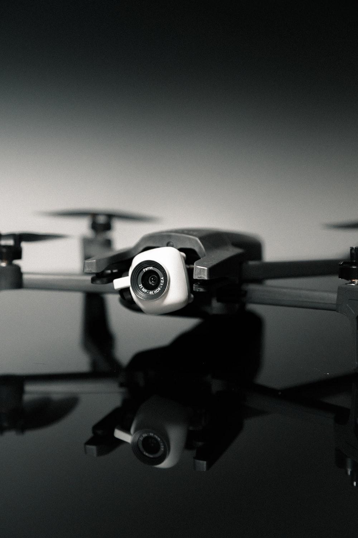 black DJI Mavic Pro quadcopter