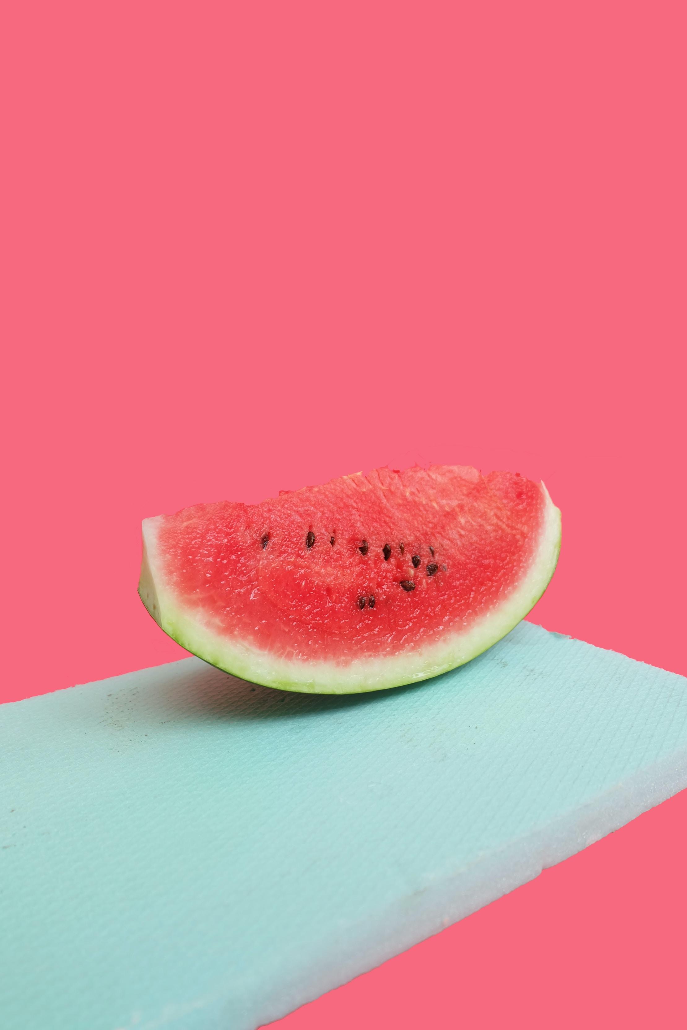 sliced watermelon