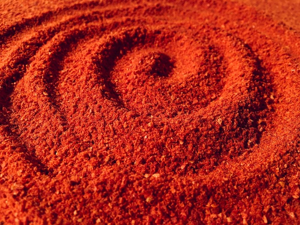 brown soil