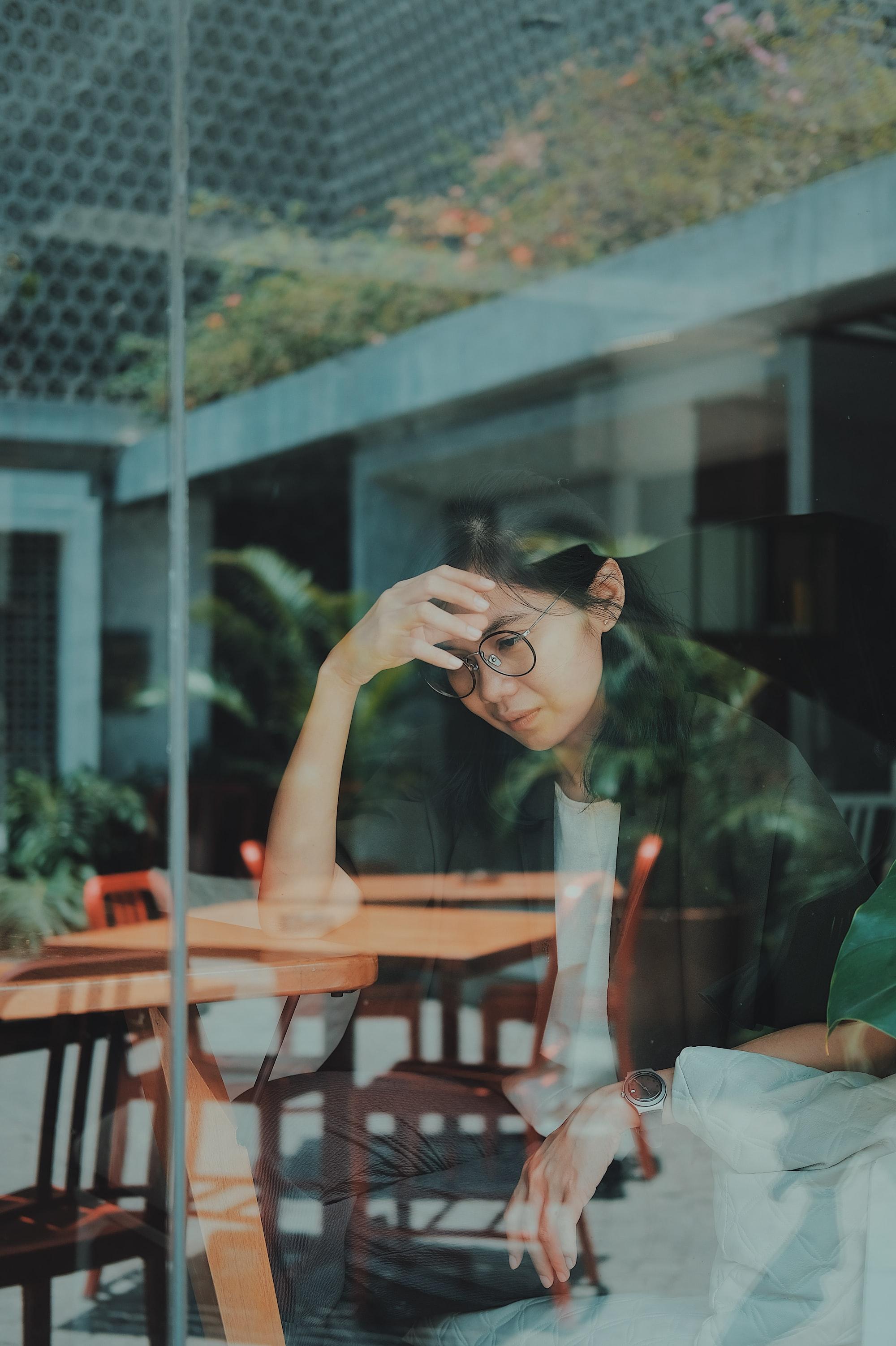 I met a girl in the coffee shop in Yogyakarta