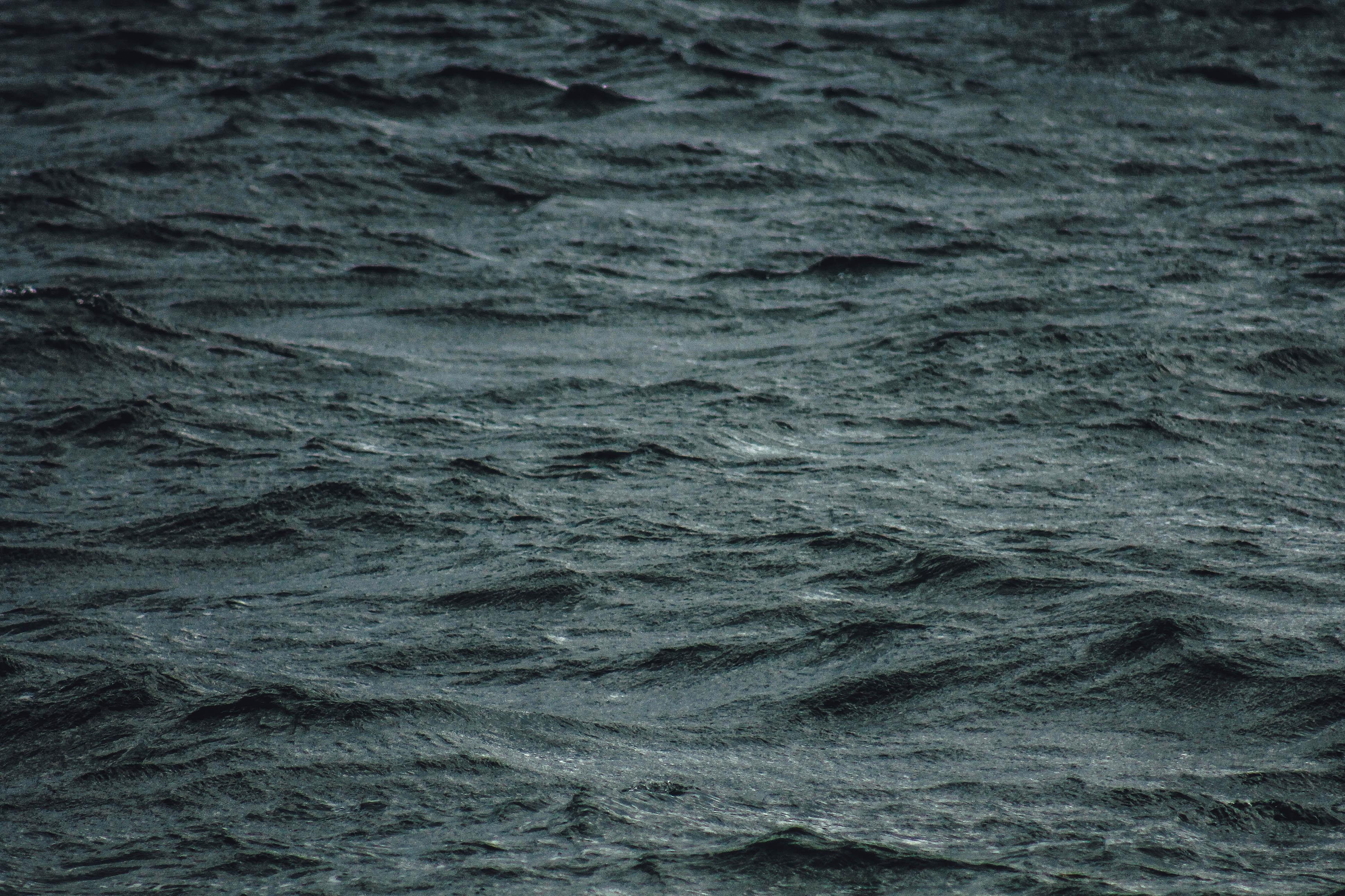 gray body of water
