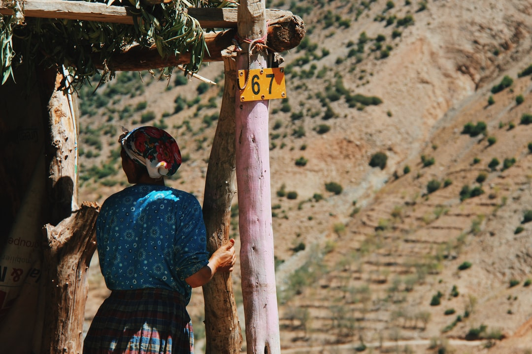 My encounter with this beautiful woman in a remote village in the High Atlas mountains of Morocco is one of my most memorable moments.