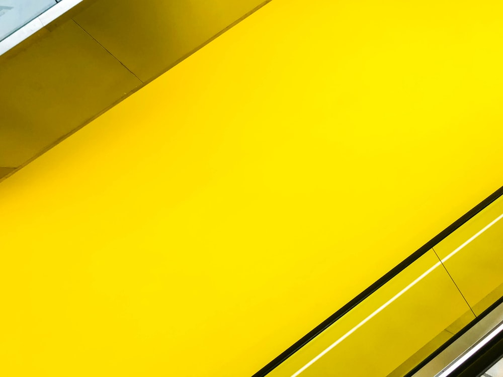 yellow surface