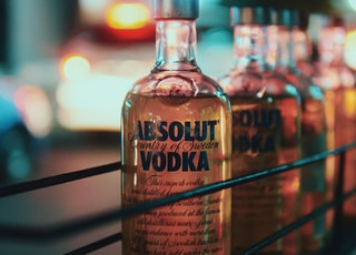 Absolut Vodka bottle lot