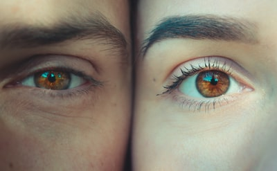 person's eyes human zoom background