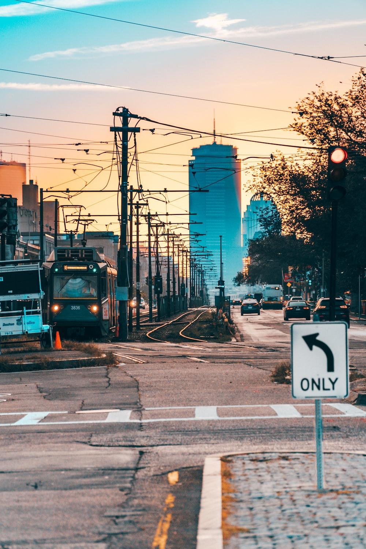 gray tram during daytime