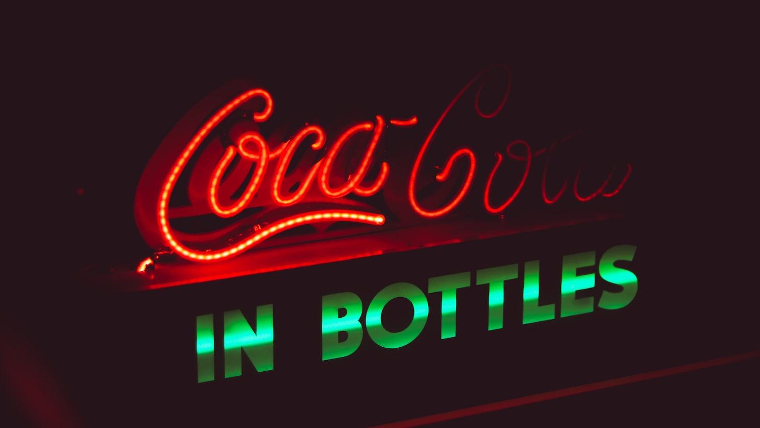 A click in World of Coca-Cola