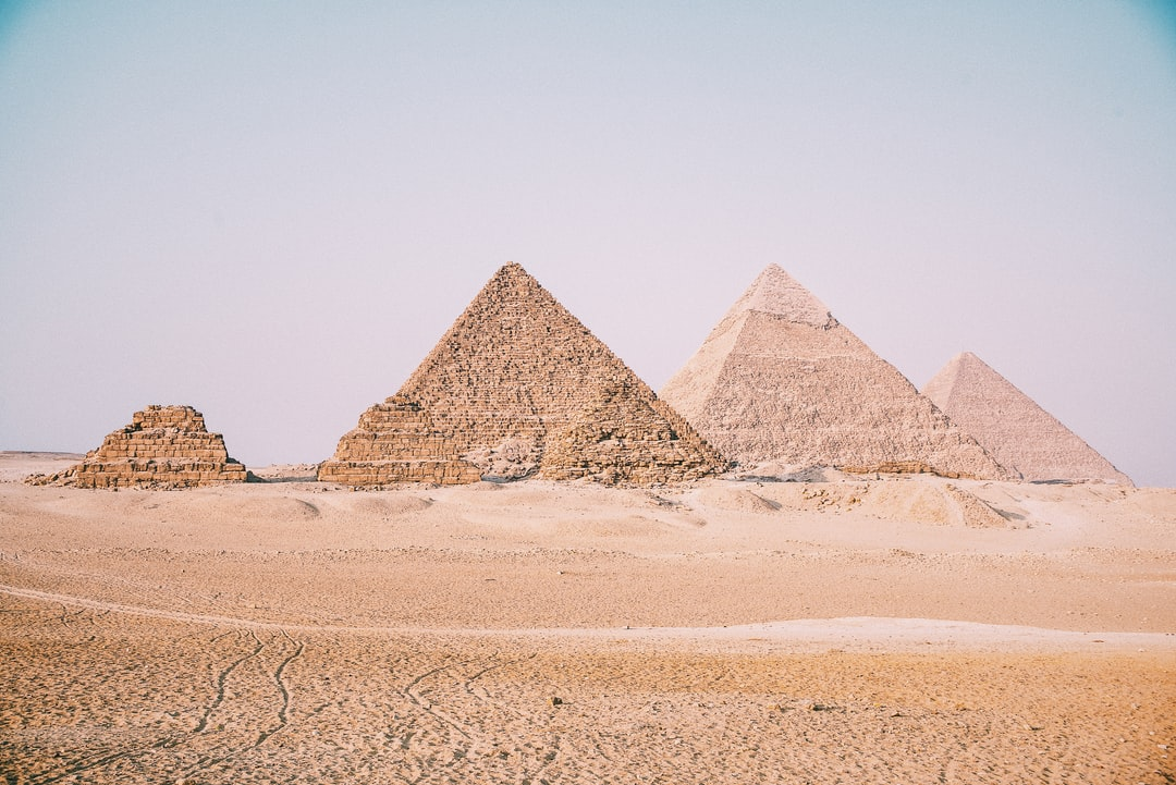 The six pyramids of Giza. The seven wonders. I took this picture on a back of a camel and with a hard sun on my back. I felt like a real desert nomad, walking aimlessly, looking at the sand and at the pyramids. I thought of how great this moment was, looking at these wonders up close is simply sensational, a dream experience.