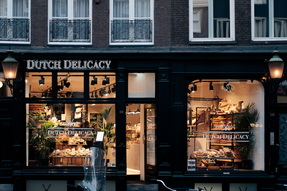Dutch Delicacy store during daytime